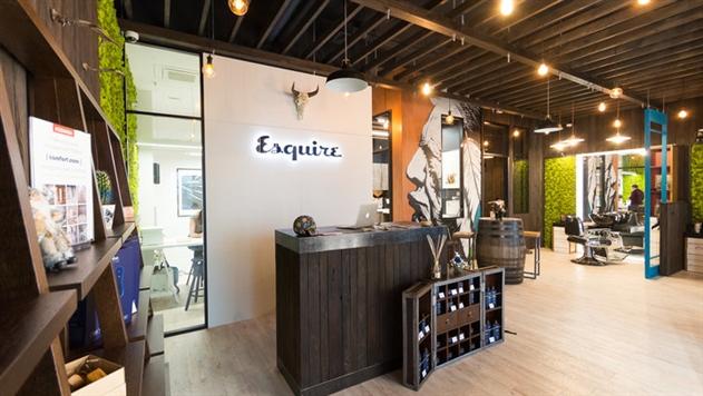 В Минске под брендом Esquire открыли первый мужской салон