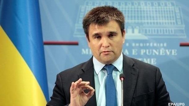 Климкин анонсировал новые санкции против России