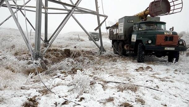 В Украине обесточены 34 населенных пункта – ГСЧС