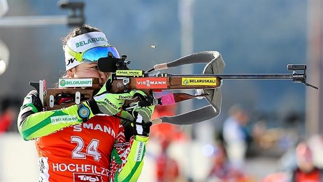 Ирина Кривко заняла 19-е место в гонке преследования на этапе Кубка мира